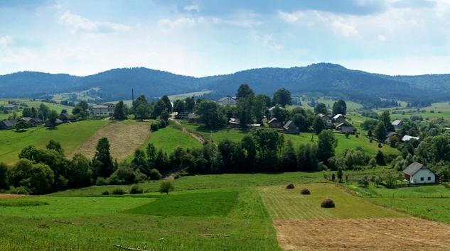 Топографічне знімання села Боберка